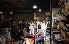 浅草でNHK総合「ファミリーヒストリー」の再現VTRの撮影が行われました。